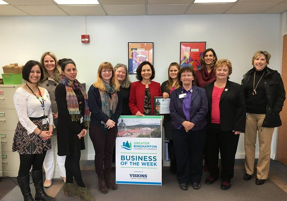 FamPlan named Greater Binghamton Chamber's 'Business of the Week'