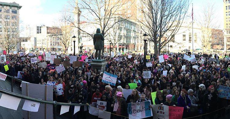 #BeHeard: Join FamPlan at Binghamton's Women's March 2018